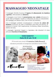 MASSAGGIO NEONATALE_Apiccolipassi_Cervignano